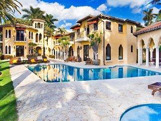 Villa Jasmine Miami Beach Estate on Sunset Island