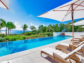 Palatial Beachfront Luxury Villa with Pool in Anguilla