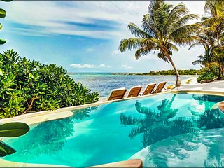 Casa del Agua Riviera Maya Luxury Beachfront Villa with Pool