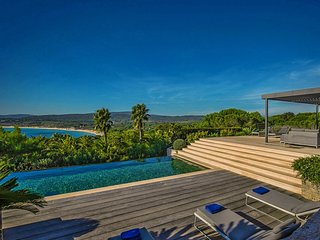 Modern Luxury Ocean View Villa in St Tropez