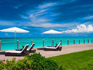 Conch Villa Turks and Caicos Oceanfront Estate, Grace Bay