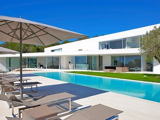 Villa Ixos Modern Ibiza Luxury Estate with Ocean Views, Cala Gracio