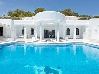 Villa Rica Ibiza Luxury Estate Overlooking Bay of Cala Jondal