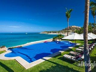 Sprawling Luxury Beachfront Estate with Pool in Palmilla, San José Del Cabo