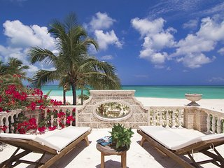 Coral House Turks and Caicos Oceanfront Estate, Grace Bay