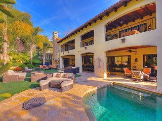Beverly Hills Luxury Tuscan Style Villa with Saltwater Pool