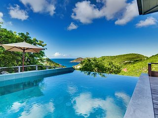 Villa Datcha St Barts Ocean View Luxury Villa with Pool, St. Barthelemy