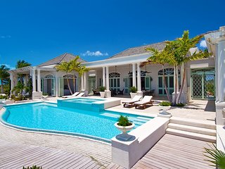 Luxury Beachfront Plantation Influenced Estate in Long Bay, Long Bay Beach