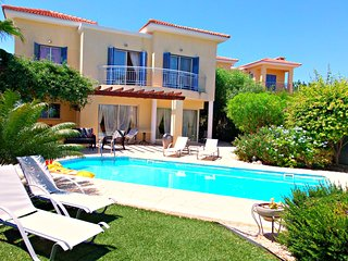 Latchi 200m to Blue Flag Beach - 3 Bed Villa  Pool