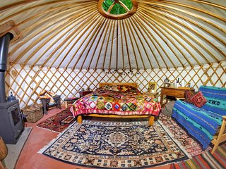 Luxury Yurt Retreat in Sussex Woodland