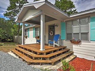 NEW! 2BR Inlet Beach Cottage w/Expansive Backyard!