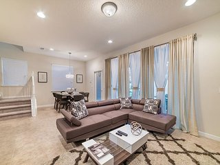 Beautiful professionally decorated townhome with private pool and game room!