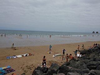 Hendaya Apartamento con  vistas a la playa y acceso directo a ella