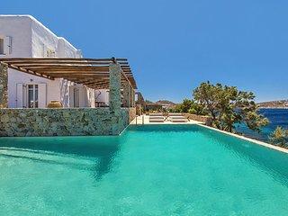 Oceanfront Villa mit Pool für 12 Personen, Agios Ioannis