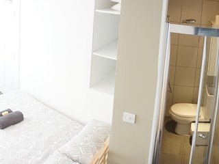 Habitation doble con baño privado/London Center, Londres