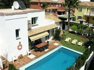 Beachside villa with private pool, San Pedro de Alcantara