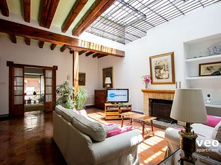 Monsalves. Wonderful stately town-house. 12 guests, Seville