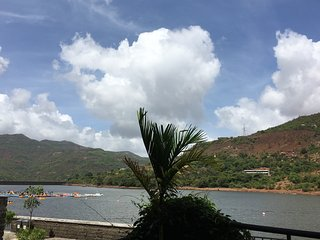 Furnished Lake Facing Garden Apartment, Lavasa