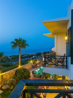 Our villa Offers Beautiful views at night.