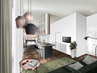 Modern furnished city lofts Rotterdam