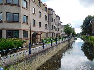 Suberb, canalside apartment, close to city centre, Édimbourg