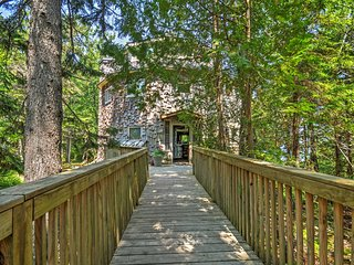 """Dragonwood Castle"" - Whimsical 3BR Prospect Harbor Home on 6.7 Private Acres"