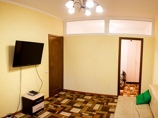 The apartment is located near the park Pushkin .