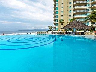 Sleek Nuevo Vallarta Condo w/ Direct Beach Access!