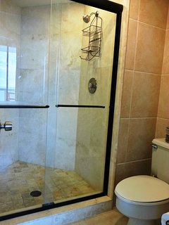 601a studio large walk-in shower.