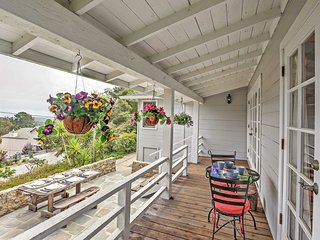 2BR Aptos Cottage w/Deck & Views - 10 Min to Beach