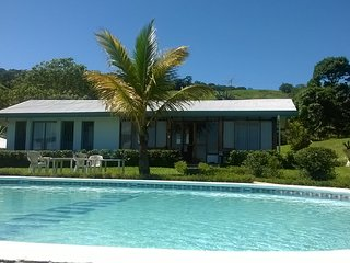 Casa frente piscina finca GANDALO, TURRIALBA, Turrialba