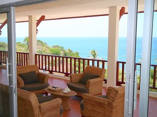 Pool villa with magnificent sea view at Kantiang