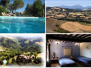 Ca Piero - a small village for maximum 20 people, Urbino