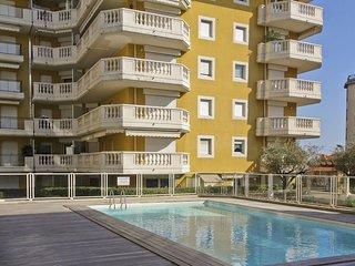 1mn Sea for 3 Pool + Parking + A/C - 509, Niza