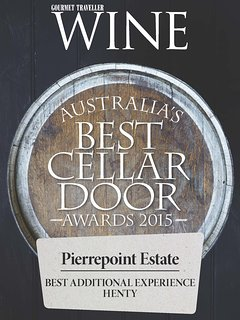 Australian Good Food Guide Award for Best Cellar Door with Additional Experience (BnB)