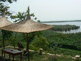 panoramic views over the lake, Jurilovca