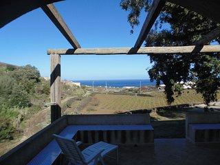Dammuso Belvisi solitario a Bugeber, Pantelleria
