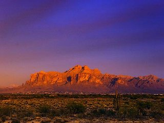 Superstition Mountain Magestic Sunsets, Apache Junction