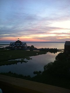 Captivating bayfront sunsets