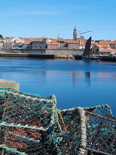 The Elizabthan walled town of Berwick upon Tweed. 2 miles from the Cottage