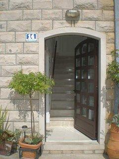 Villa entrance.