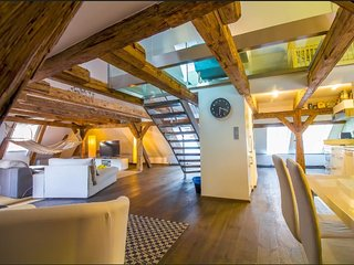 AMAZING Charles Bridge Penthouse, Praga