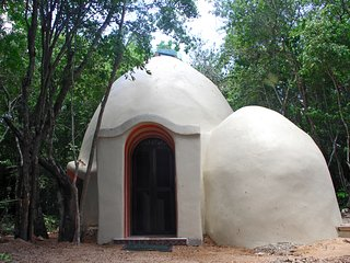 Organic ecological dome/loft , 2 beds sleep 4, Akumal