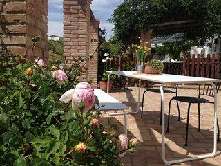 Casa La Yedra: Appartamento Giardino