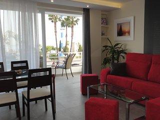 Apartamento en 1a linea de playa.