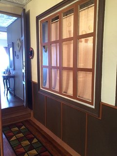 Living room entryway