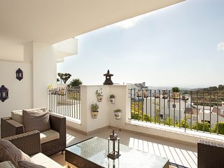 Modern apartment with spectacular views, Ojén