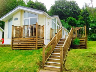 45014 Log Cabin in Hele Bay, Mortehoe