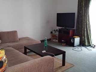 3 bedroom flat in a block of 5, central safe area.
