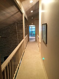 Upstairs Hall to Master Suite